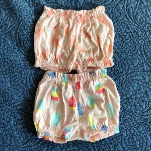 2 Pairs Gap Bubble Shorts 12-18 months